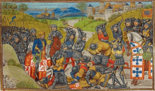 The Battle of Aljubarrota, 14 August 1385