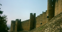The castle of the Knights Templar of Tomar